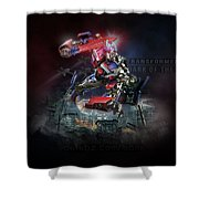Transformers Dark Of The Moon Shower Curtain