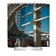 Transit Harbor Shower Curtain