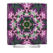 Transition Flower 6 Beats 4 Shower Curtain