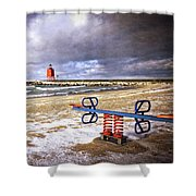 Transition Of Seasons Shower Curtain