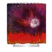 Transition Six Shower Curtain