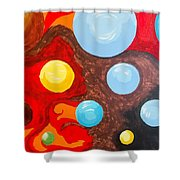 Transitions Time Space And Visions Of November Shower Curtain