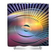 Transitory Shower Curtain