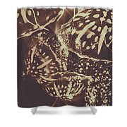 Translucent Abstraction Shower Curtain