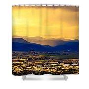Translucent Spirit  Shower Curtain