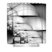 Transmute Shower Curtain