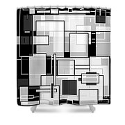 Transparency II Shower Curtain