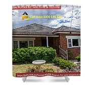 Transportable Homes For Sale  Shower Curtain