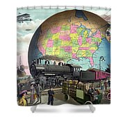 Transportation, C1910 Shower Curtain