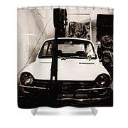Transportation Gallery Shower Curtain