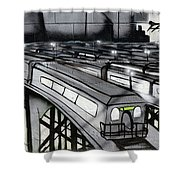 Transporters Shower Curtain