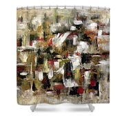 Transverse Shower Curtain