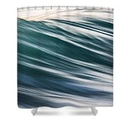 Transverse Xix Shower Curtain