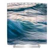 Transverse Xx Shower Curtain