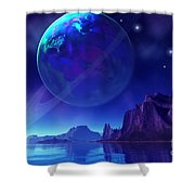 Tranta 3 Shower Curtain