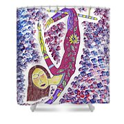 Trapeze Shower Curtain