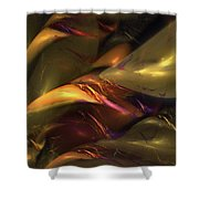 Trapped In Amber Shower Curtain