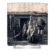Trappers Shower Curtain