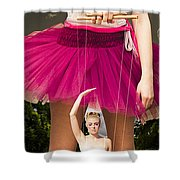Travel Down Your Own Road And Dance To Your Own Beat Shower Curtain