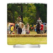 Travel In Time To Renaissance Shower Curtain