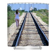 Travel With A Purpose  Shower Curtain