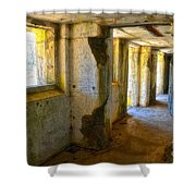 Traveler In Time Shower Curtain
