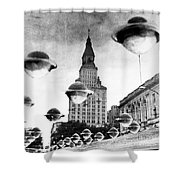 Travelers Insurance Tower Shower Curtain