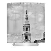 Travelers Tower - Hartford Connecticut Shower Curtain