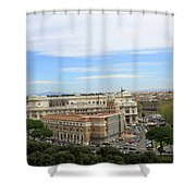 Traveling Clouds Shower Curtain