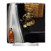 Traveling In Style Shower Curtain