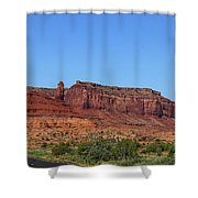Traveling On Highway 163 Shower Curtain