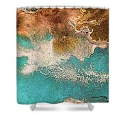 Traveling Soul Shower Curtain
