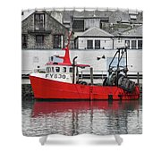 Trawler Fy 830 Atlantis Shower Curtain