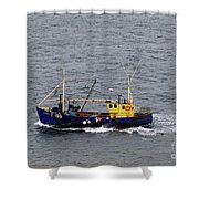 Trawling Off The Dingle Peninsula In Ireland Shower Curtain