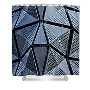 Tri-angular Shower Curtain