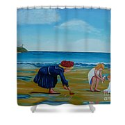 Treasure Hunting Shower Curtain