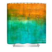 Treasure Shower Curtain by KR Moehr