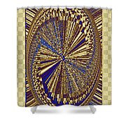 Treasure Trove Beyond Shower Curtain by Will Borden