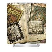 Treasured Objects Shower Curtain