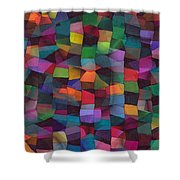 Treasures Shower Curtain by Susan  Epps Oliver