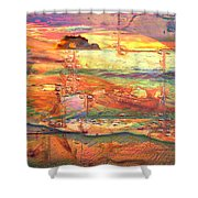 Treasuresinthedeep Shower Curtain