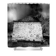Treasury Of Athenians  Shower Curtain