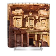 Treasury Of Petra In Color Shower Curtain