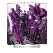 Treat Me To Lavender Shower Curtain