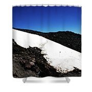 Tread Carefully Shower Curtain