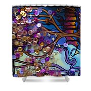 Tree And Face Of Beauty Shower Curtain