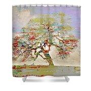 Tree Art 54tr Shower Curtain