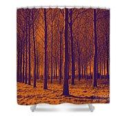 Tree Art 56y Shower Curtain