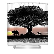 Tree Art Shower Curtain