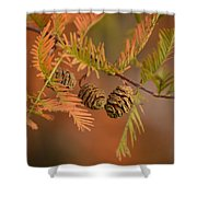 Tree Babies Shower Curtain